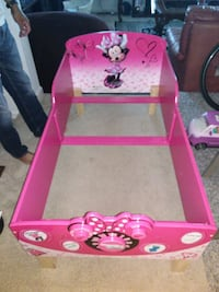 pink and white Minnie Mouse bed frame Silver Spring, 20906