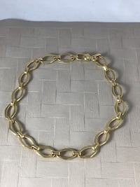 """Gold tone Chain 18"""" Necklace, very nice"""