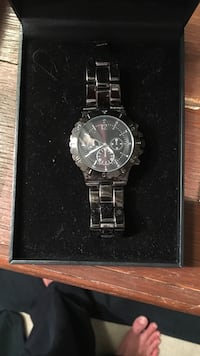 Black Stainless Steal Watch Brand New. Price negotiable  Hockessin, 19707
