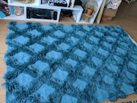 New blue trellis area rug 5'x8', never used! Pittsburgh, 15206