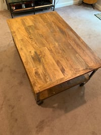 Coffee table - Aiden world market.  Excellent condition