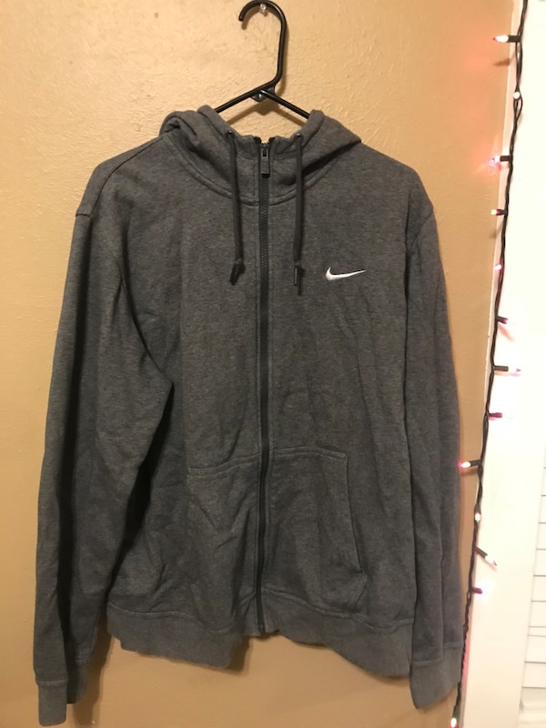 Charcoal Grey Womens Nike Jacket