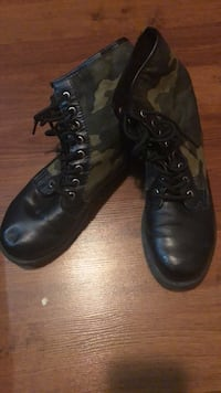 Ladies Army coloured  Doc Martins