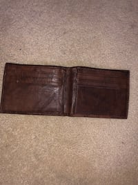 BROWN LEATHER WALLET NEW San Mateo, 94403