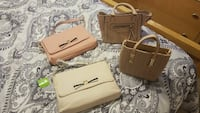 2 purses gently used and 2 never used  Las Vegas, 89145