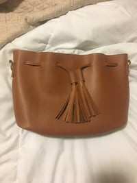 Brown faux leather clutch/ purse  Monterey, 93940
