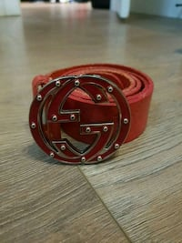 Red gucci belt  Langley City