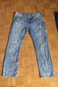 True Religion Washed Jeans