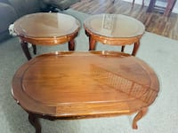 Coffee table and end tables North Las Vegas, 89031