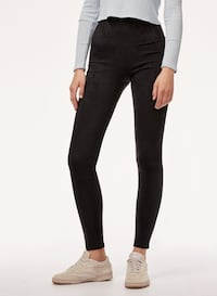 Aritzia Wilfred suede tights Langley, V3A