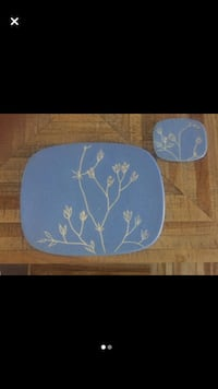 Ceramic Floral Placemats Toronto