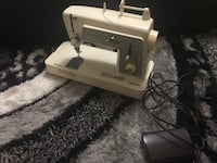 white and gray sewing machine Mississauga, L5G 4N3