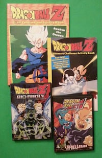 Dragon Ball Z & Dragon Ball GT Brolly Upper Marlboro, 20772