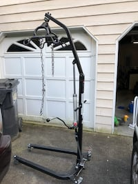 Bariatric hydraulic Hoya lift. 450 pounds max. Can also be used to lift car motors & transmissions  Duluth, 30096