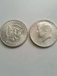 two half dollar coins Germantown, 20874