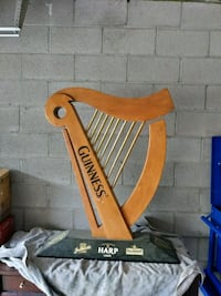Guinness harp solid wood very sweet