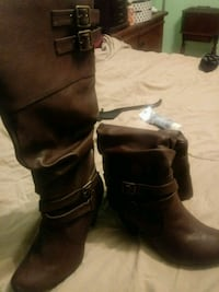 Brown size 10M heel boots Rockford, 37853