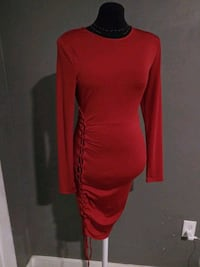 ***WOMEN'S LARGE SEXY RED DRESS!*** Dallas