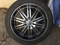 "Rims 20"" inch on tires 235 45 20 Ottawa, K2G 2Y7"