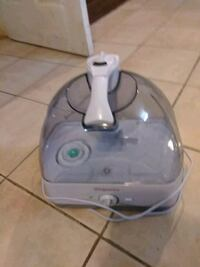 gray and white corded home appliance 27 mi
