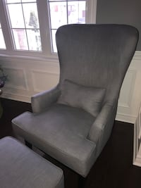 2 GREY ACCENT CHAIRS W/OTTOMANS Bradford West Gwillimbury, L3Z