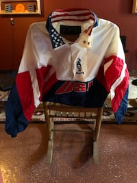Vintage Rare! 1996 OLYMPIC ATLANTA Team USA Jacket by Starter Jacket Belgrade, 04917