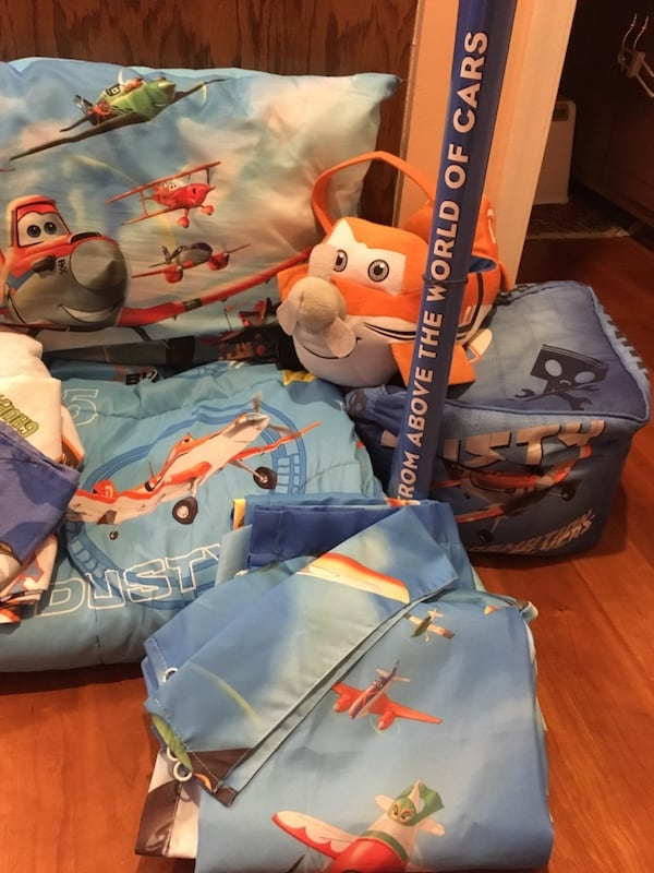 Used Disney Planes Bedding And Room