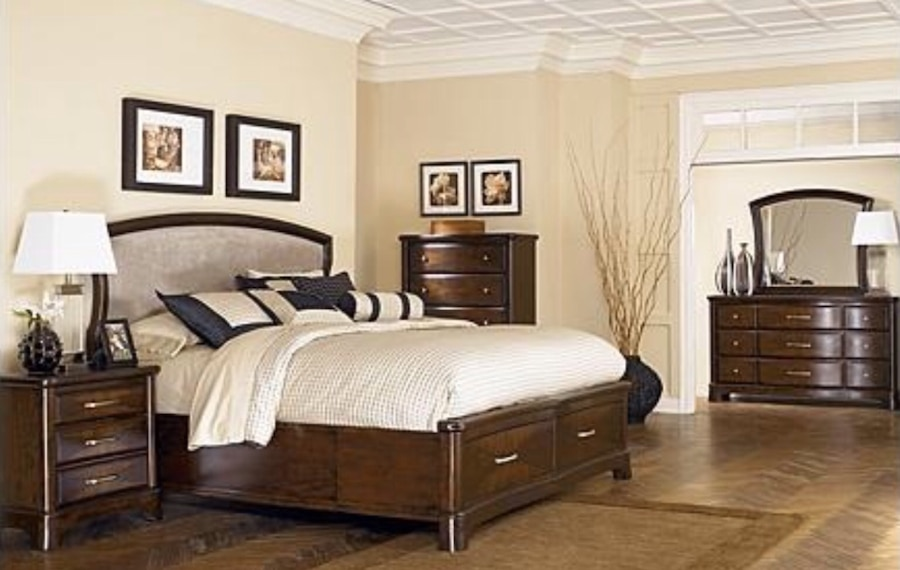 used ashley furniture king size bedroom set in tucson