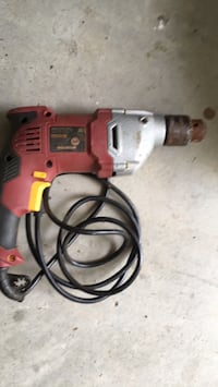red and black corded power drill Virginia Beach, 23456