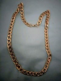 Stainless steel gold necklace  Largo, 33771