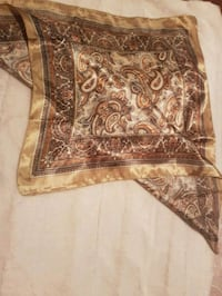 brown and white floral textile Langley, V2Y 1L2
