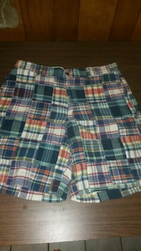 white, red, and black plaid shorts Pensacola, 32514