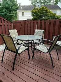 Patio table and chairs Burke, 22015