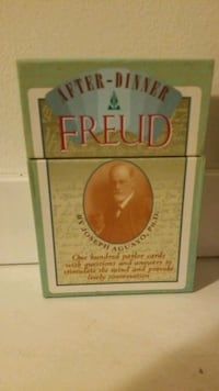Freud after dinner parlour cards  Calgary, T2A 0J8