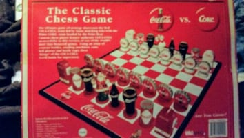 Collectors Edition Coke Chess game