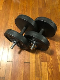 20lb dumbbell weight set detachable Washington, 20002