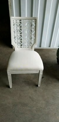 Off white accent chair