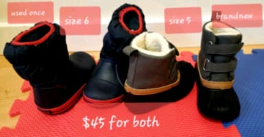 Boots for infant