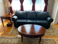 Leather Sofa, Coffee Table, End Table Catonsville