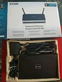 Like New D-Link Wireless N 300 Router  Toronto, M9N 0A4