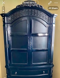 Detailed Amazing Armoire. Comes in 2 pieces Murrieta, 92563