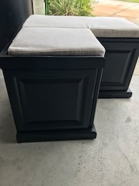 Used Black wooden cabinet in Winter Haven