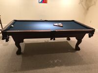 Bassford pool table Bowie