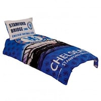 Chelsea FC twin size duvet set. Very gently used and in perfect! Bargain! Pleasanton, 94566