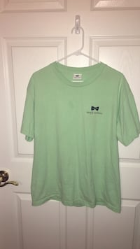green crew-neck T-shirt Canton, 30114