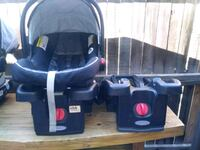 Graco Click connect carseat with 2 bases Greenwood Village, 80111