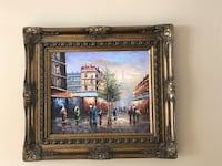 painting of house with brown wooden frame Montréal, H9E 1M5