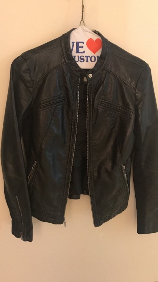 Used Express Faux Leather Jacket For Sale In Vancouver Letgo