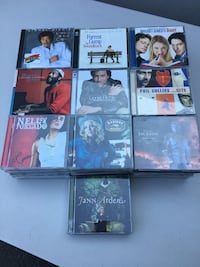 CD collection, 90 in total  Toronto, M3H 4K4