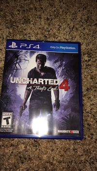 Sony PS4 Uncharted 4 game case Clovis, 88101